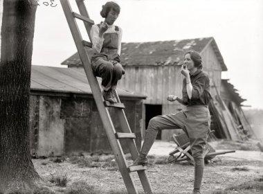 War gardeners, 1918